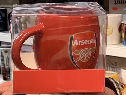 arsenal football team mug