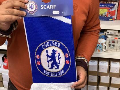 chelsea football team scarf