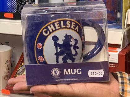 chelsea football team mug