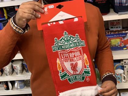 liverpool football team scarf