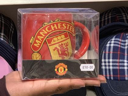 manchester united football team mug
