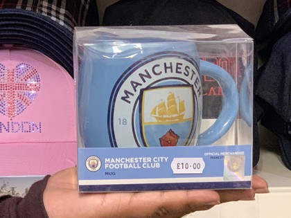 manchester city football team mug