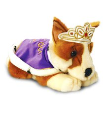 queen corgi bear