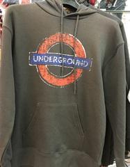 london underground granite hoodie