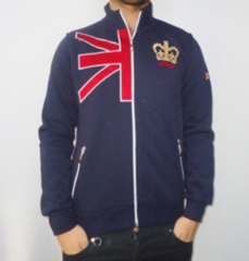 London college sweatshirt in navy