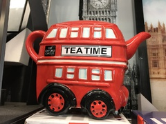 london bus vintage teapot