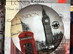 london telephone gift plate