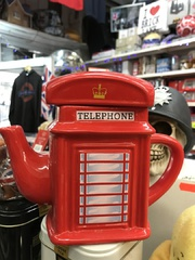 london telephone teapot gift