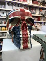union jack skull head